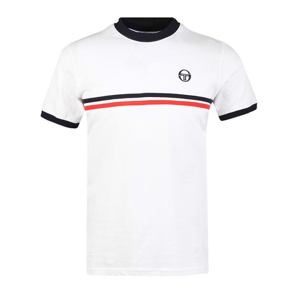Sergio Tacchini Mens White S/S Supermac T-Shirt main image