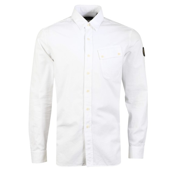Belstaff Mens White Pitch Shirt