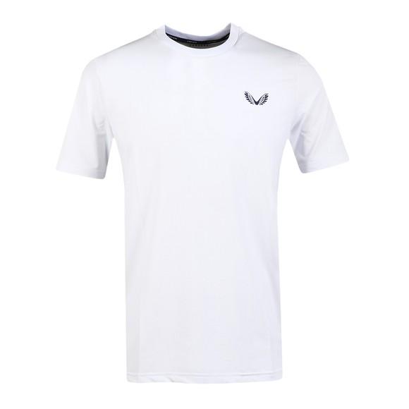 Castore Mens White Running T-Shirt