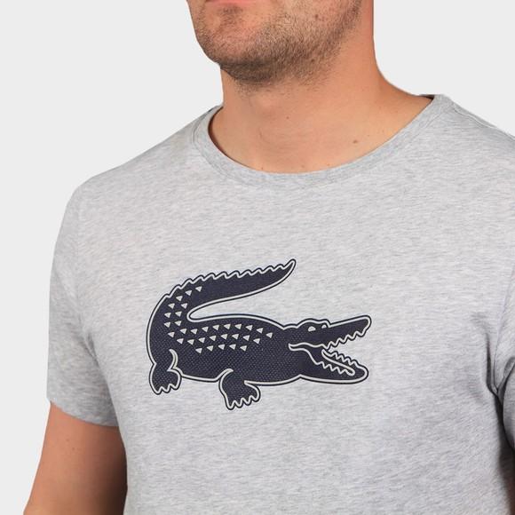 Lacoste Sport Mens Grey TH2042 3D Print T-Shirt main image