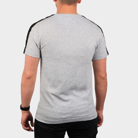 Lacoste Mens Grey TH5172 Tape T Shirt main image
