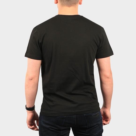 Lacoste Mens Black TH2038 Plain T-Shirt main image