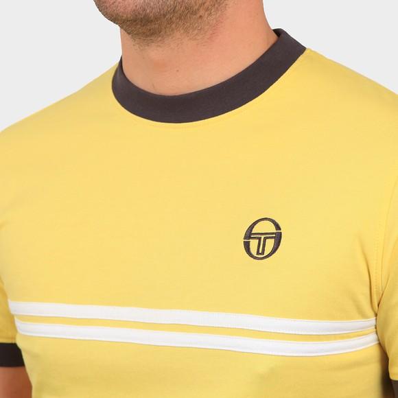 Sergio Tacchini Mens Yellow S/S Supermac T-Shirt main image