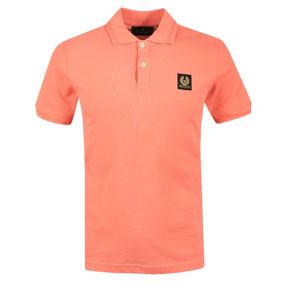 Belstaff Mens Pink Short Sleeve Polo Shirt