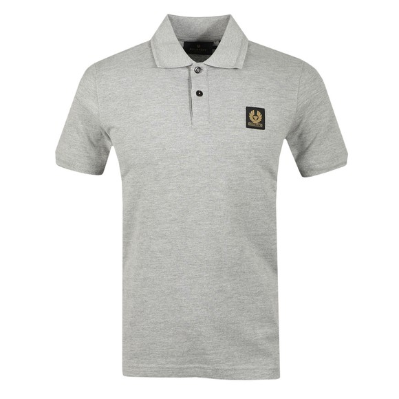 Belstaff Mens Grey Short Sleeve Polo Shirt