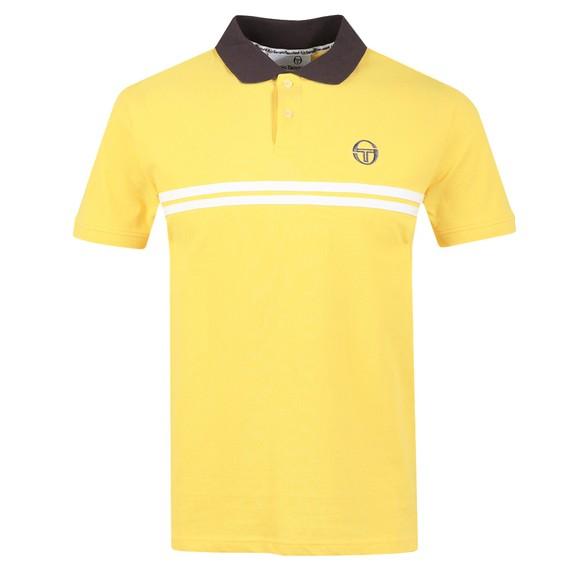 Sergio Tacchini Mens Yellow Supermac Polo Shirt main image