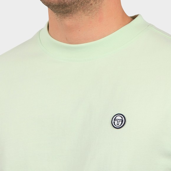 Sergio Tacchini Mens Green Cavour T Shirt main image