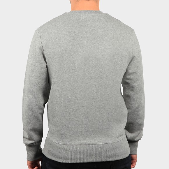 Fred Perry Mens Grey Embroidered Sweatshirt main image