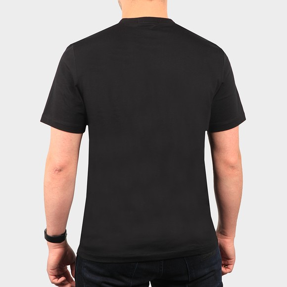 Fred Perry Mens Black Embroidered T Shirt main image