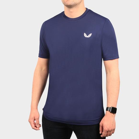 Castore Mens Blue Running T-Shirt