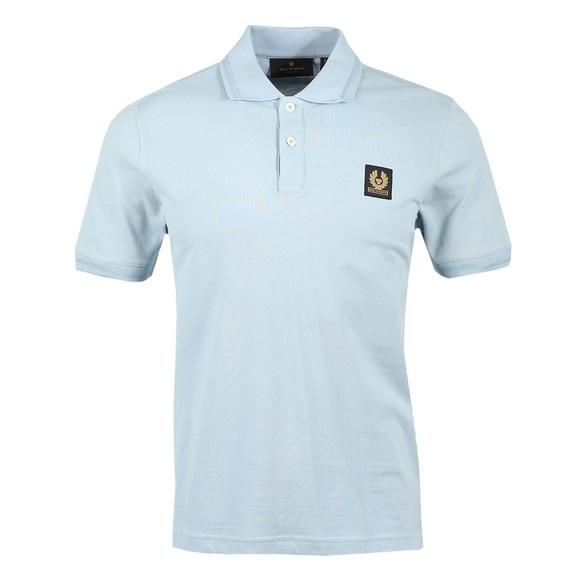 Belstaff Mens Blue Short Sleeve Polo Shirt