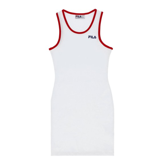 Fila Womens White Mattea Bodycon Dress main image