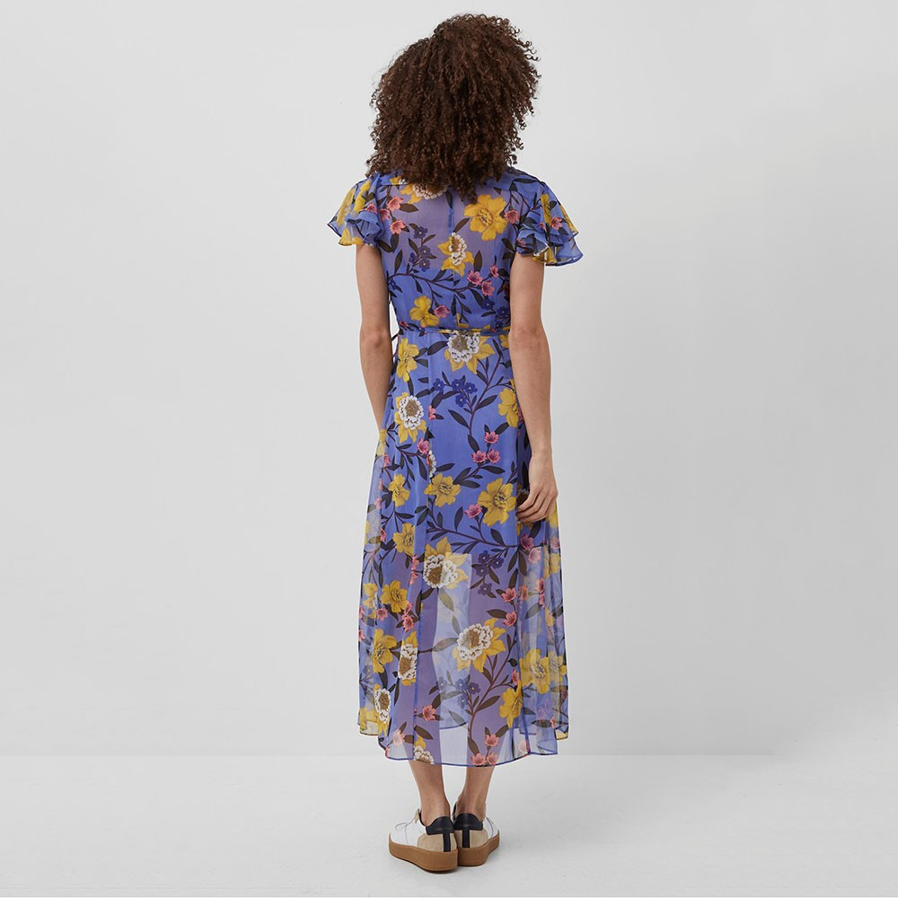 Eloise Crinkle Midi Dress main image