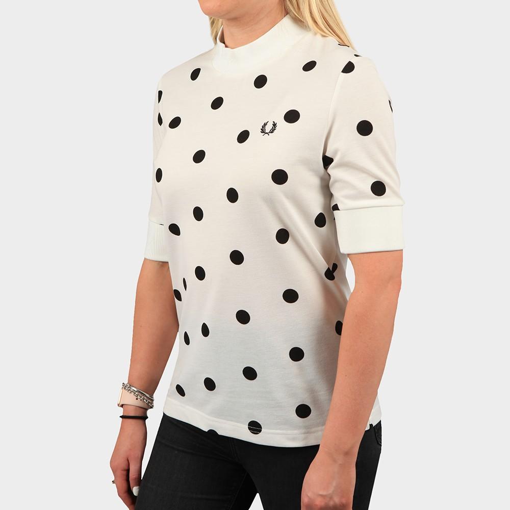 Spot Print Pique T Shirt main image