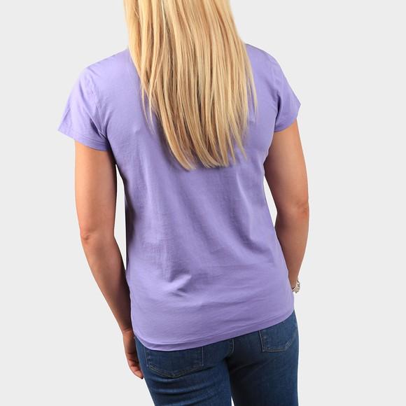 Polo Ralph Lauren Womens Purple Basic Crew T Shirt main image
