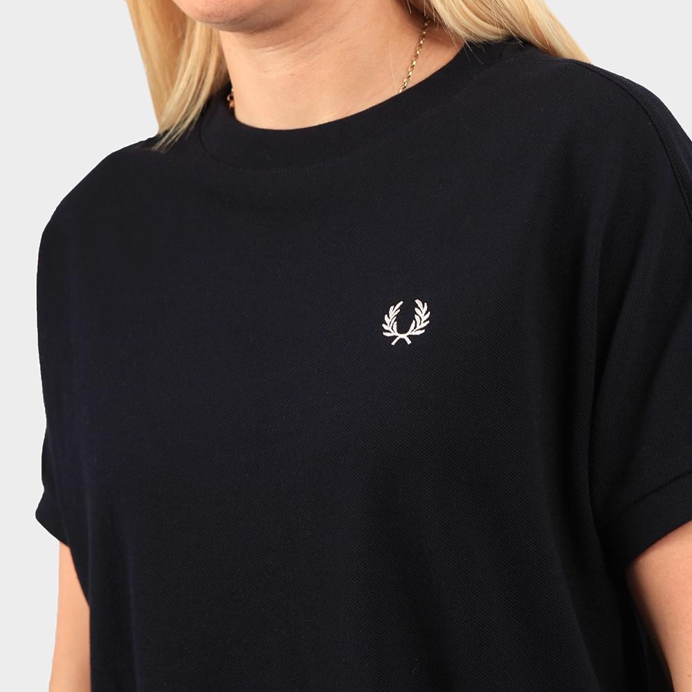 Boxy Pique T Shirt Dress main image