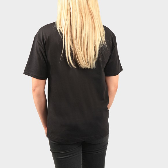 Fred Perry Womens Black Crew Neck T Shirt main image