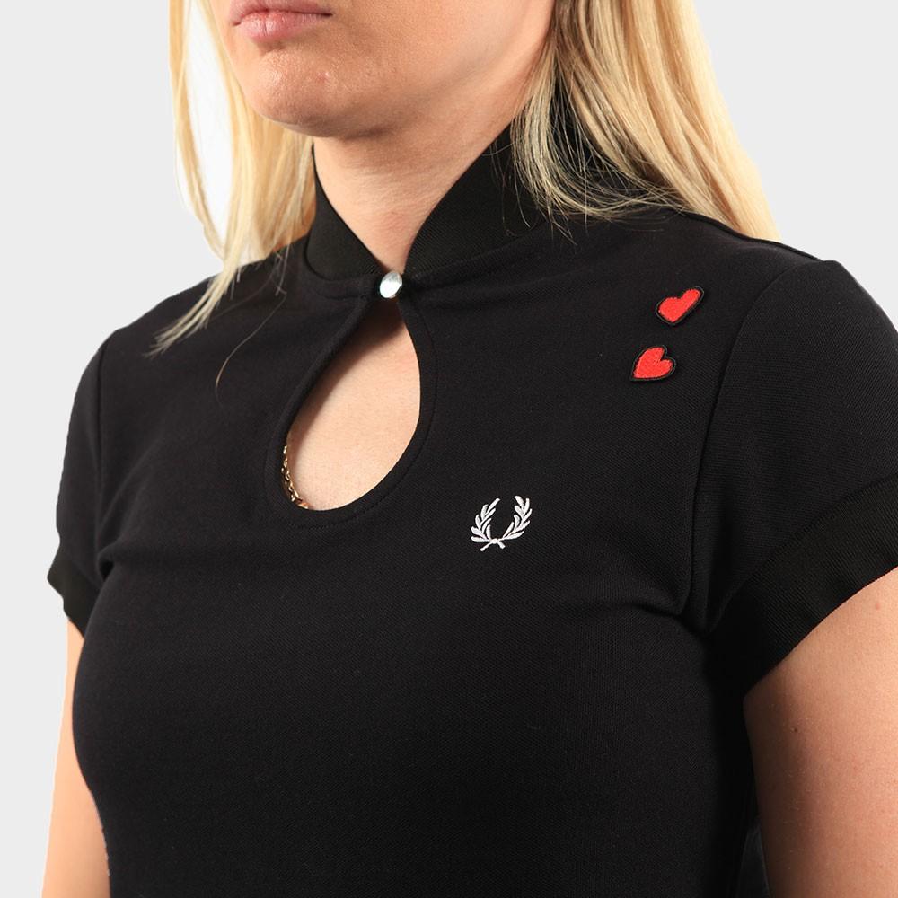 Keyhole Pique T Shirt main image
