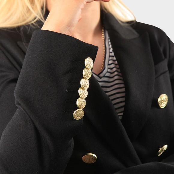 Holland Cooper Womens Black Light Knightsbridge Blazer main image