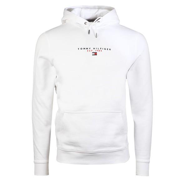 Tommy Hilfiger Mens White Essential Hoody