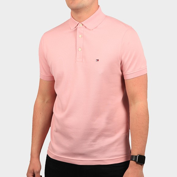 Tommy Hilfiger Mens Pink 1985 Polo Shirt