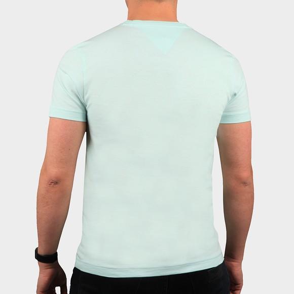Tommy Hilfiger Mens Green Circle Chest Corp T-Shirt main image