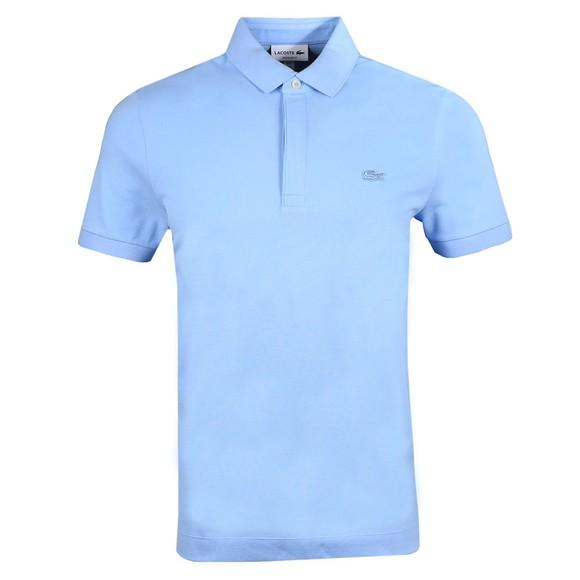Lacoste Mens Blue PH5522 Paris Polo Shirt main image