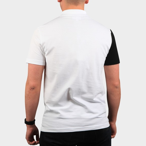 Lacoste Mens White YH9852 Letter Polo Shirt main image