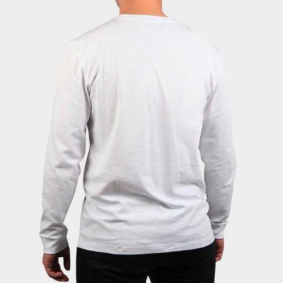 Lacoste Sport Mens White L/S T-Shirt main image