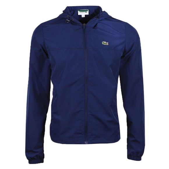 Lacoste Mens Blue BH9801 Lightweight Jacket