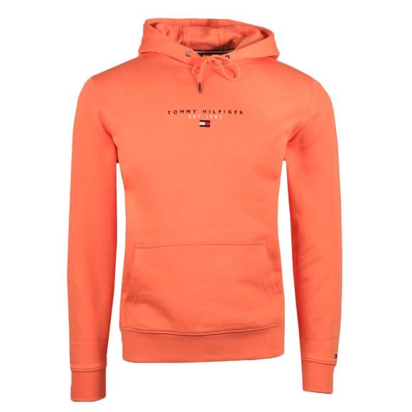 Tommy Hilfiger Mens Orange Essential Hoody