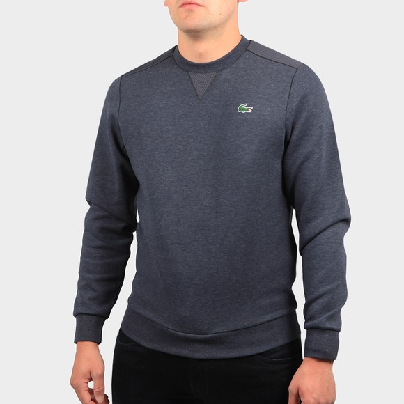 Lacoste Mens Grey SH9604 Sweatshirt