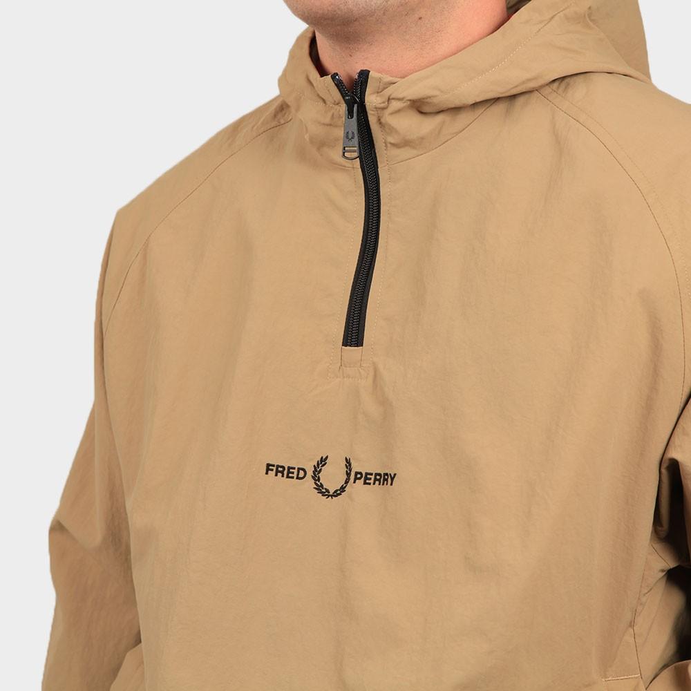 Embroidered Half Zip Jacket main image