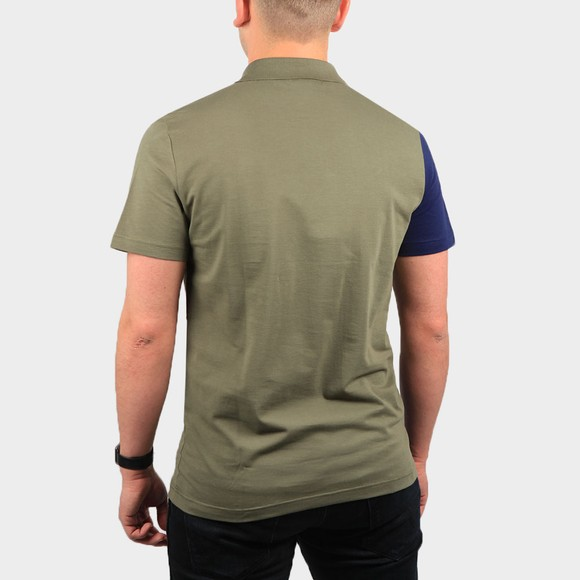 Lacoste Mens Green YH9852 Letter Polo Shirt main image