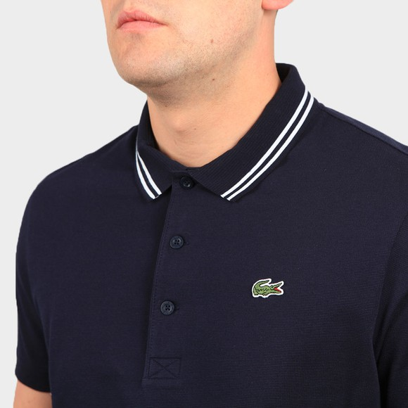 Lacoste Sport Mens Blue YH1482 Tipped Polo Shirt main image