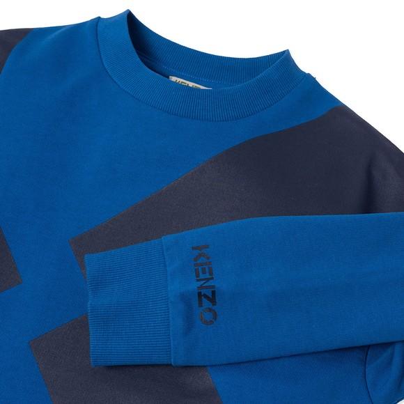 Kenzo Kids Boys Blue K25075 Sweatshirt main image