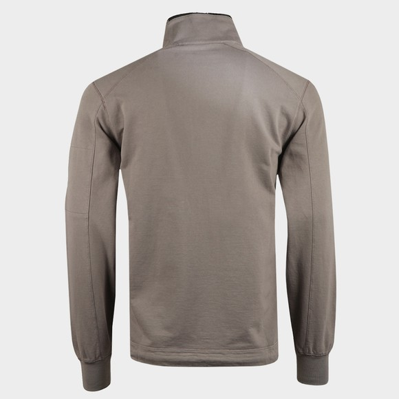C.P. Company Mens Grey Half Zip Sweatshirt