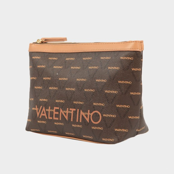 Valentino Bags Womens Brown Liuto Make Up Bag