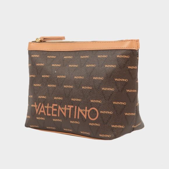 Valentino Bags Womens Brown Liuto Make Up Bag main image