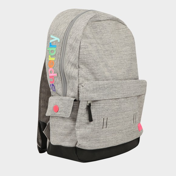 Superdry Womens Grey Rainbow Applique Montana Backpack