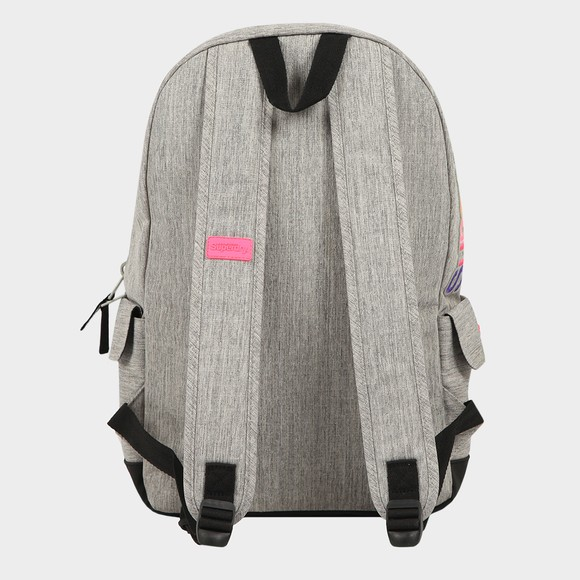 Superdry Womens Grey Rainbow Applique Montana Backpack main image