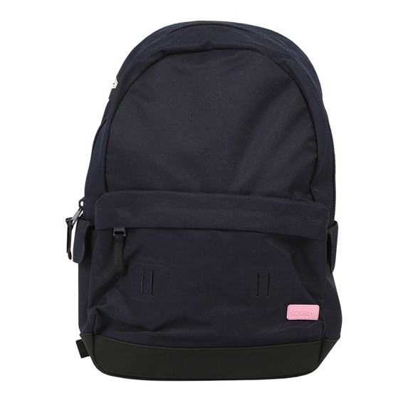 Superdry Womens Blue Rainbow Applique Montana Backpack