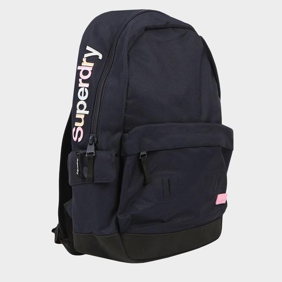 Superdry Womens Blue Rainbow Applique Montana Backpack