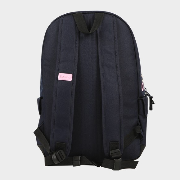 Superdry Womens Blue Rainbow Applique Montana Backpack main image