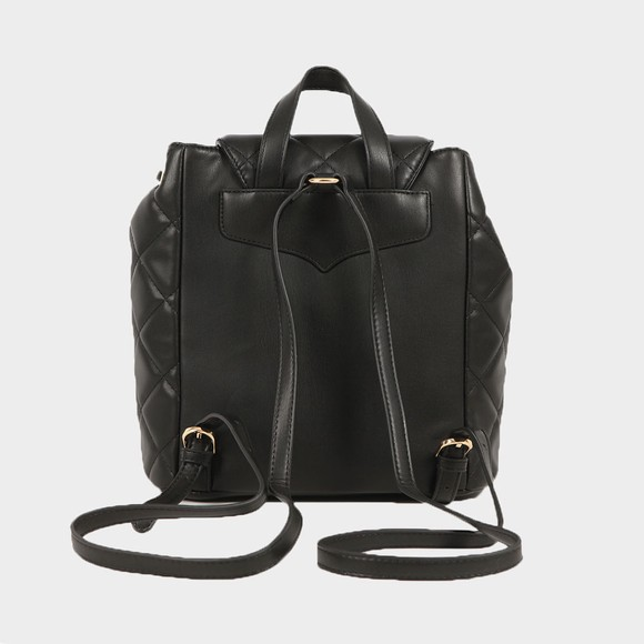 Valentino Bags Womens Black Ocarina Backpack