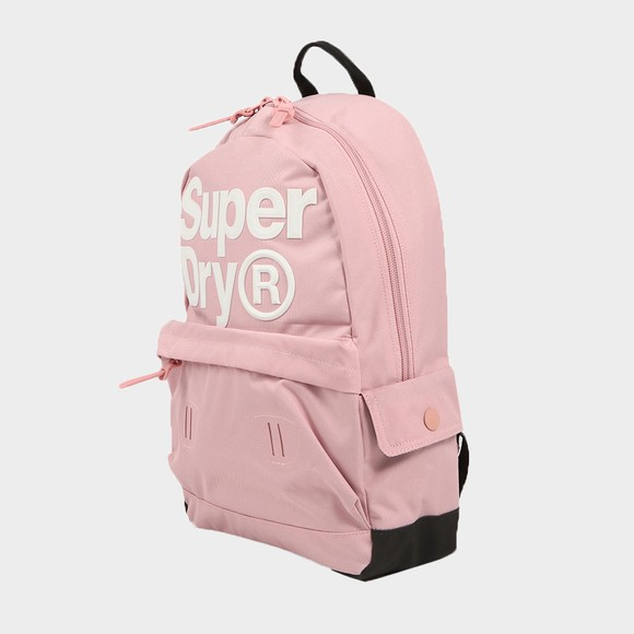 Superdry Womens Pink Edge Montana Bag