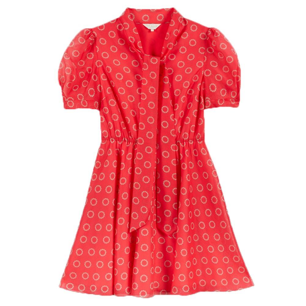 Dottyy Puff Sleeve Mini Dress main image