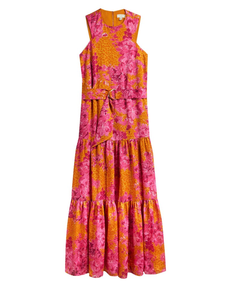 Bambia Tiered Relaxed Maxi Dress main image