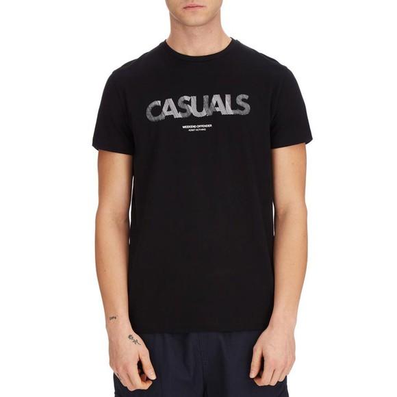 Weekend Offender Mens Black Dunham T Shirt