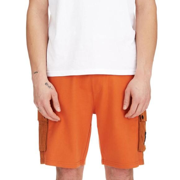 Weekend Offender Mens Orange Pink Sands Sweat Short main image